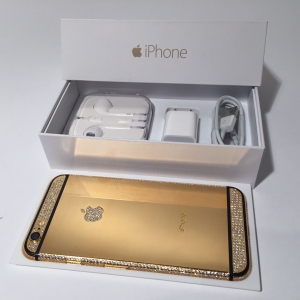 iPhone 6 + 128 GB 24 Karat Gold for sale